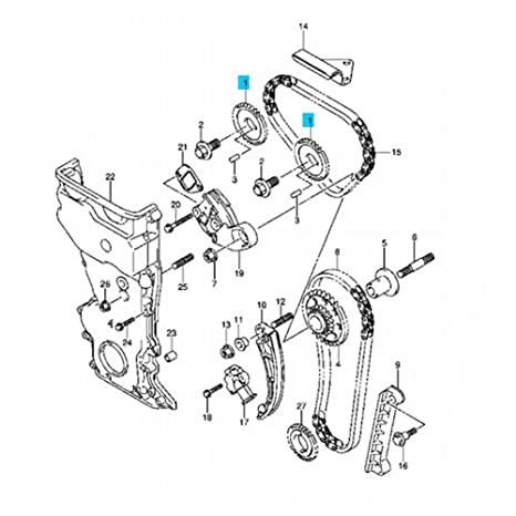 4 6l Ford Dohc Timing Marks