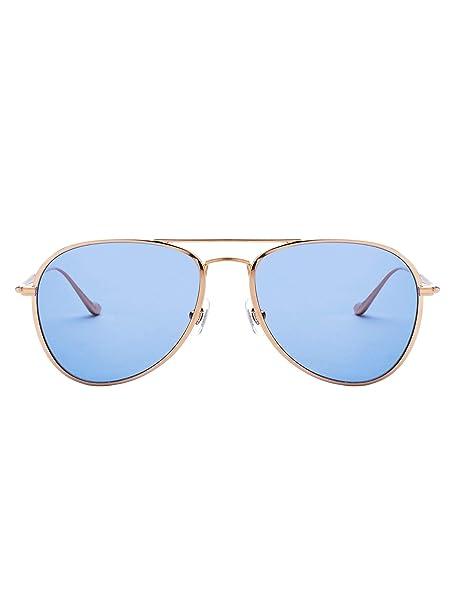 MATSUDA - Gafas de sol - para hombre Amarillo dorado: Amazon ...