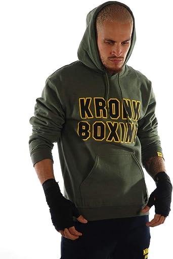 KRONK Boxe Sweats à Capuche Coupe régulier pour Hommes