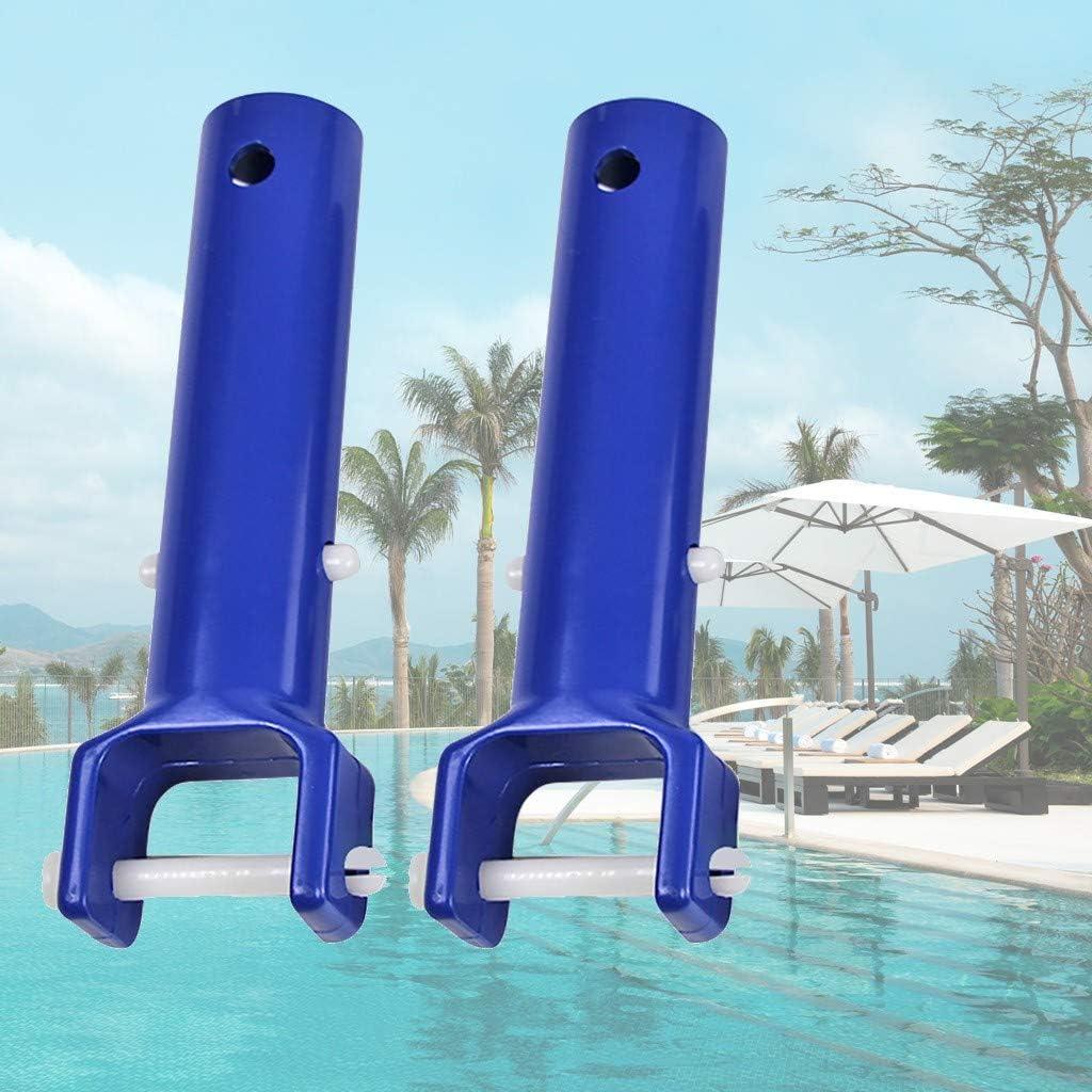 accesorios de repuesto para piscina Meet U Manijas de cabeza de aspiradora para piscina color azul