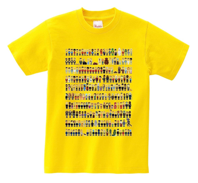 Short Sleeve T-Shirt - Sci-fi heroes' pixels