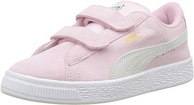 PUMA Suede 2 Straps PS, Sneakers Basses Mixte Enfant: Amazon