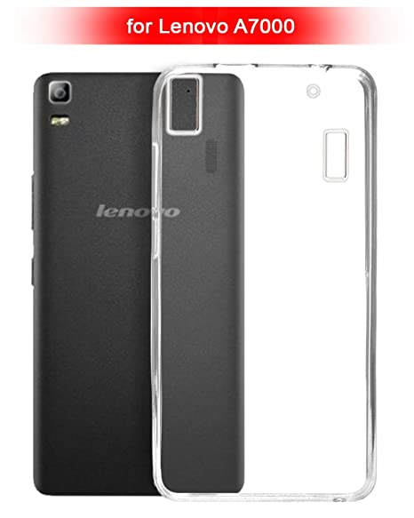 ECellStreet reg; Silicone Soft Back Cover for Lenovo A7000 / K3 Note  Transparent  Cases   Covers