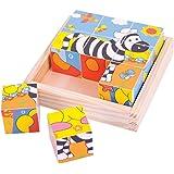 Bigjigs Toys Safari Cube Puzzle