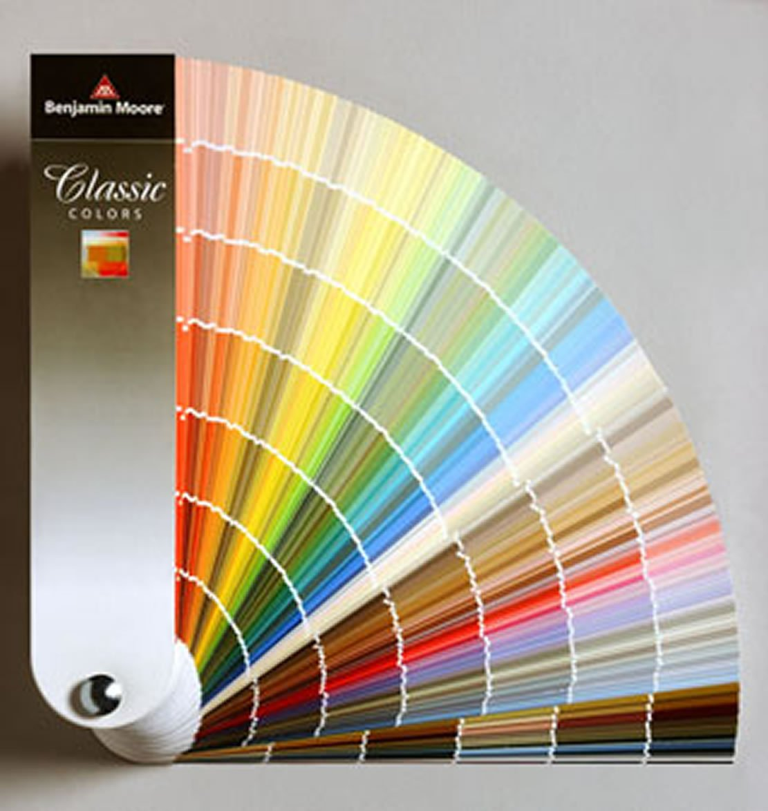 Benjamin Moore Classic Colors Fan Deck - House Paint - Amazon.com