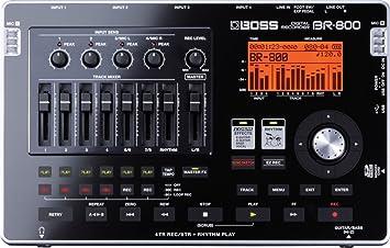e7d66f4704d Boss BR-800 Digital Recorder: Amazon.co.uk: Musical Instruments