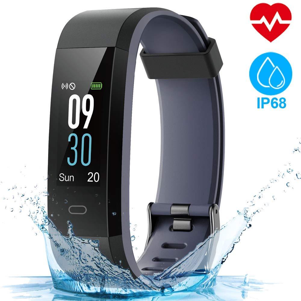HOMSCAM Orologio Fitness Tracker Fitness Braccialetto Smartwatch  Cardiofrequenzimetro da Polso Donna Uomo Bambini Smart Watch Contapassi 489826ee8104
