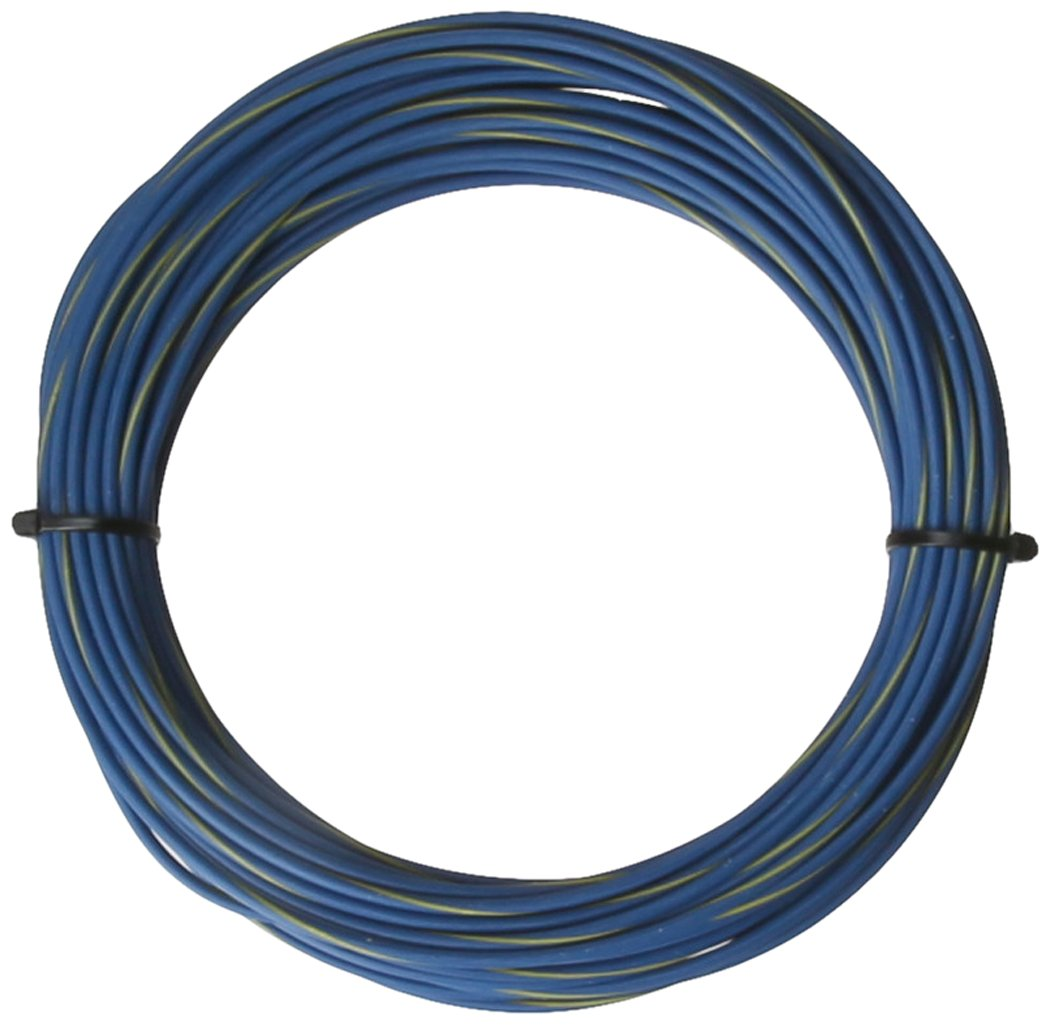 PAINLESS 70817 14GA BLUE TXL WIRE/YLW STR(50')