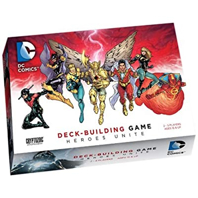 Cryptozoic Entertainment DC Deck-Building Game: Heroes Unite: Cards: Toys & Games