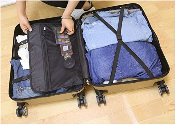 Size Black Color 34 24 39 cm Keintong Suitcase for Casual Fashion Durable Lightweight Hard Shell Suitcase Color : Silver, Size : 142010inch