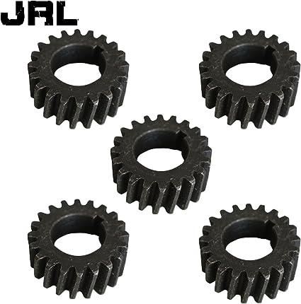 jrl 5pcs Push Bike Gear volante bisel piñón para 66 cc 80 cc ...
