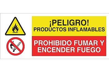 Cofan CAP02PL507210 ¡Peligro Productos Inflamables/Prohibido ...