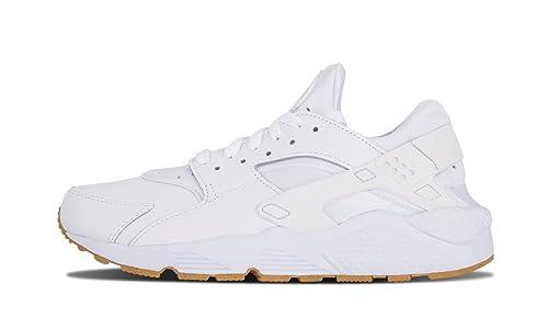 0a8bb2874c71 NIKE Men Air Huarache Run PA All White Out Ostrich Running Gum 705008-111 (
