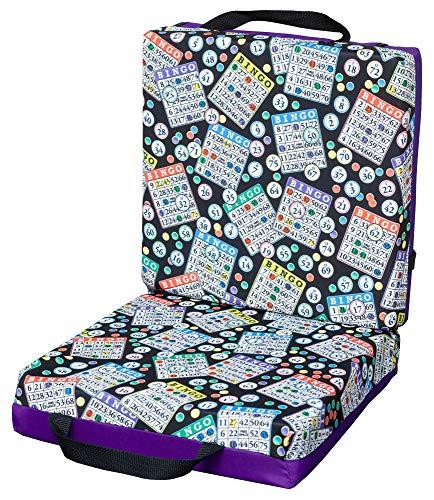 ABS Novelties Bingo Pattern Double Cushion ... (Purple)
