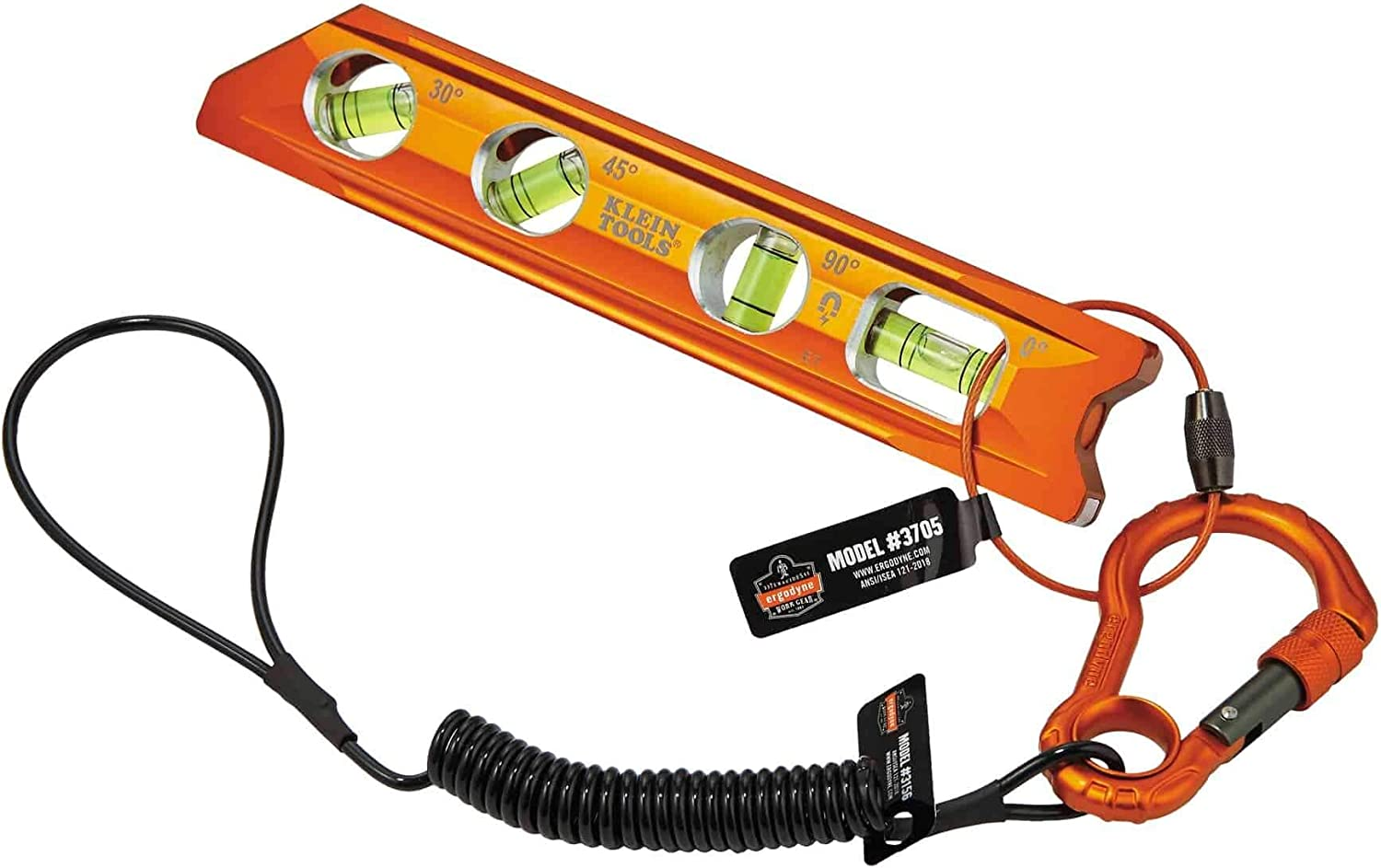 Ergodyne Squids 3186 Includes Tool Lanyards and Attachments for Spud Wrenches to Sleever Bars Tool Tethering Kit for Iron//Steel Workers