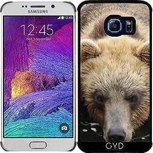 Funda para Samsung Galaxy S6 EDGE (SM-G925) - Natación Del Oso by More colors in life
