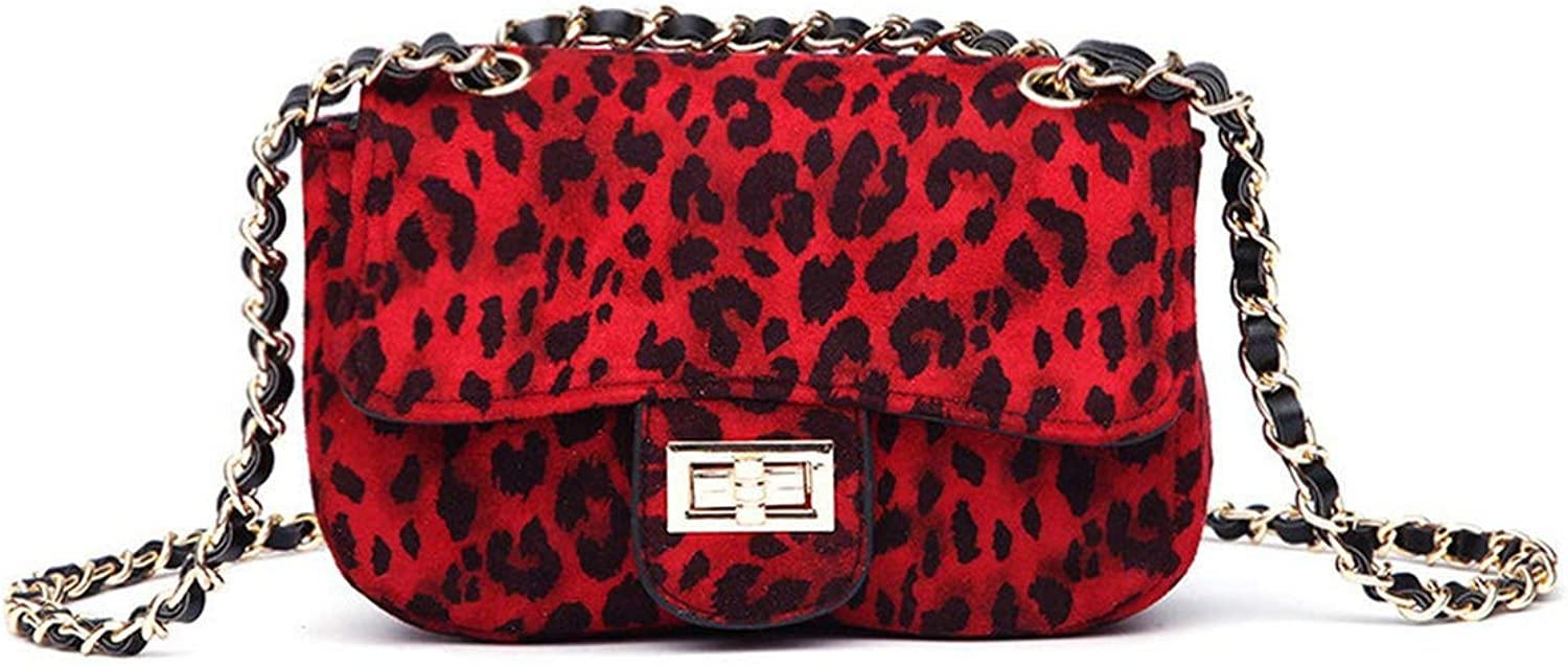 Women Handbag With Leopard...