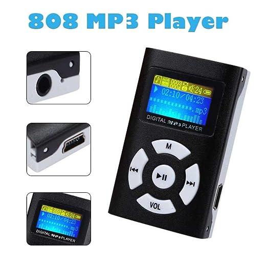 Y56 USB Mini Reproductor MP3 Pantalla LCD Apoyo 32 GB ...