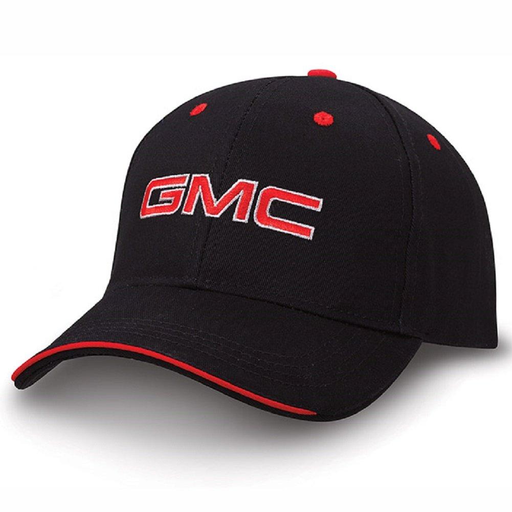 GMC Black and Red Sandwich Brim Hat NOR 6528120