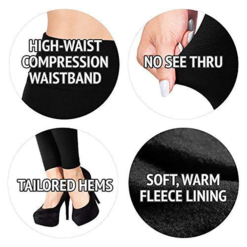 Super Soft Womens Tights Pants Full Length Opaque Slim One Size and Plus Size FASHION BOUTIQUE Beelu High Waist Leggings Women Pants