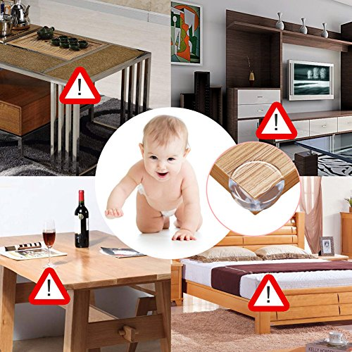 10 Pack Child Satety Locks Baby Safety Cabinet Door Fridge Drawer Appliances Cupboard Locks +20 Pack Corner Protector Baby Safety Proof Corner Guards Against Sharp Corners by Tonifa by Tonifa (Image #2)