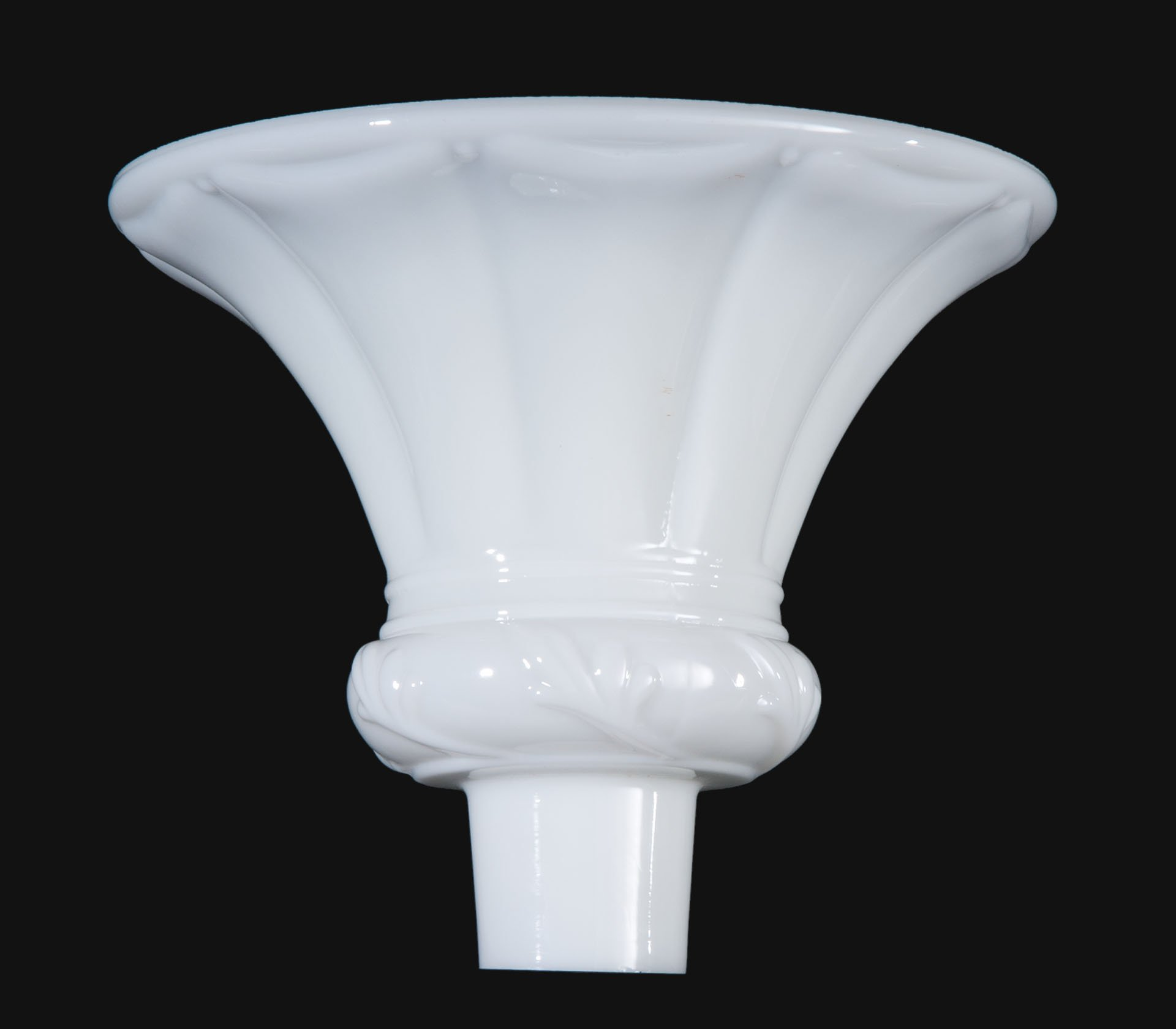 B&P Lamp Embossed Opal Torchiere Shade by B&P Lamp