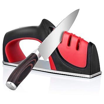 Afilador de Cuchillos WoNiu - Afilador de cuchillos de ...