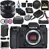 Fujifilm X-H1 Mirrorless Digital Camera (Body Only) 16568731 XF 14mm f/2.8 R Ultra Wide-Angle 16276481 VPB-XH1 Vertical Power Booster Grip Bundle