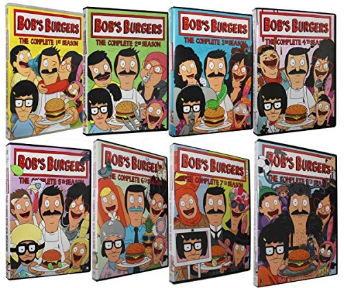 Mocei Bob's Burgers: The Complete Series Collection Season 1-8 (DVD 22-Disc Box Set)