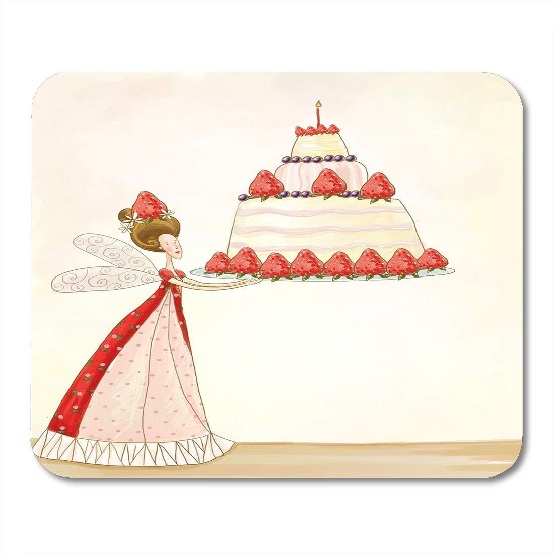 Almohadillas para mouse Hora del té de hadas Bosquejos de ...