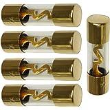 Aerzetix 3800946214236 Lot de 5 Fusibles AGU pour Sono Auto Voiture Ampli Sub 40A