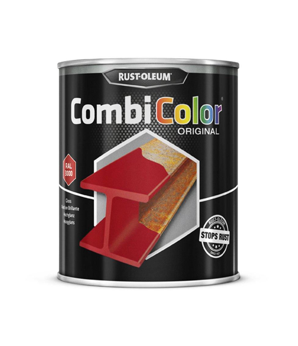 Rust-oleum 7365.0.75 CombiColor Original, protecció n Superior Metal, Directo a la corrosió n, brillante red-ral 3000 protección Superior Metal Directo a la corrosión