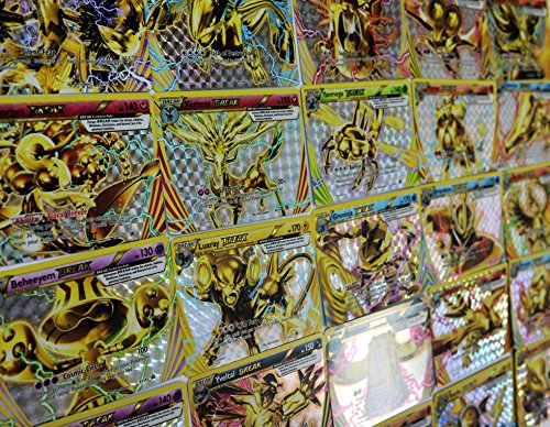 Pokemon 5 Break Cards Lot -