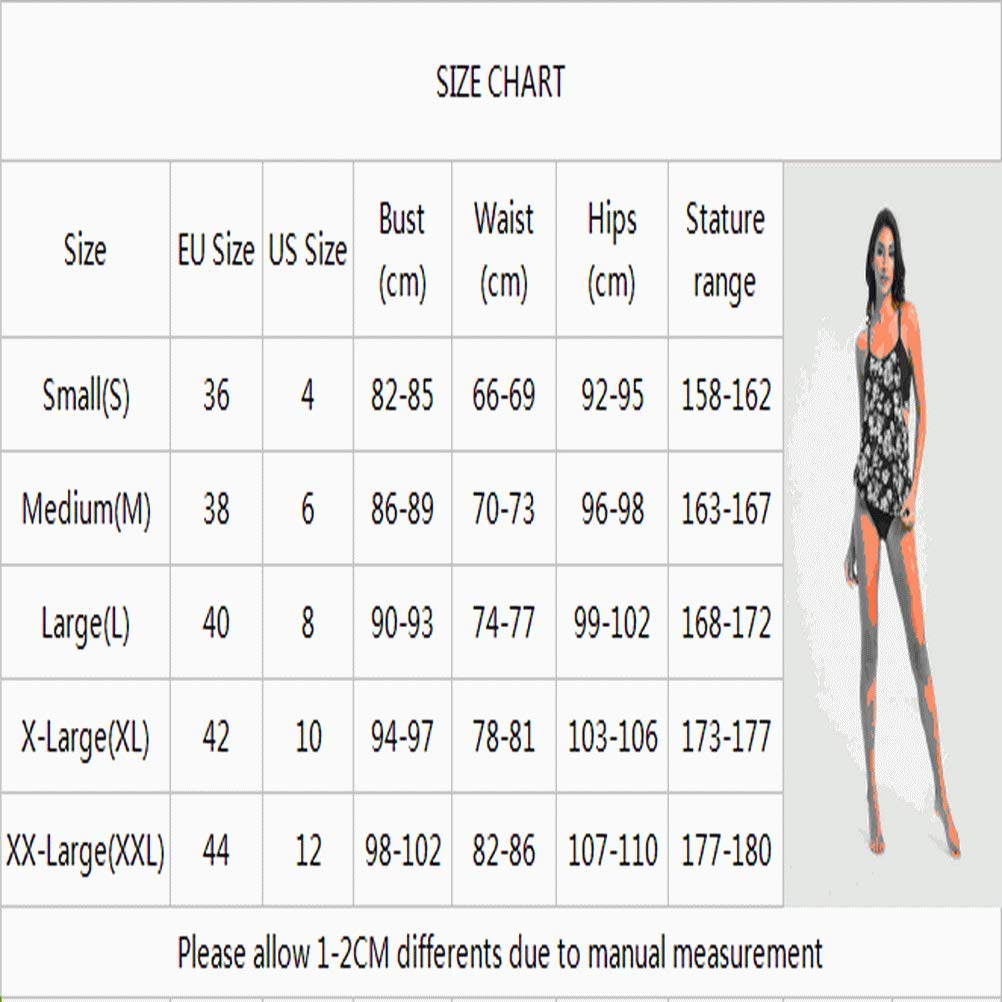 Bikinibiza Womens Tribal Printed Tankini with Boyshort Bikini Set Lined up Double up Tankini Sets Swimwear