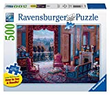 Ravensburger The Sitting Room Large Format 500 Piece Jigsaw Puzzle for Adults - Every Piece is Unique, Softclick Technology Means Pieces Fit Together Perfectly