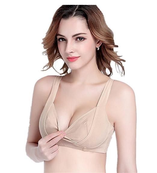 Yoli - Sujetador premamá y de lactancia - para mujer beige beige Medium