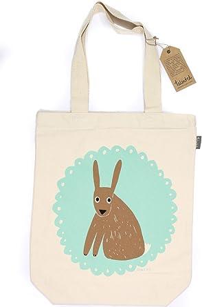 Talented - Bolsa de tela para hacer la compra, estampada, para hombre o mujer Mr Hare M: Amazon.es: Ropa y accesorios