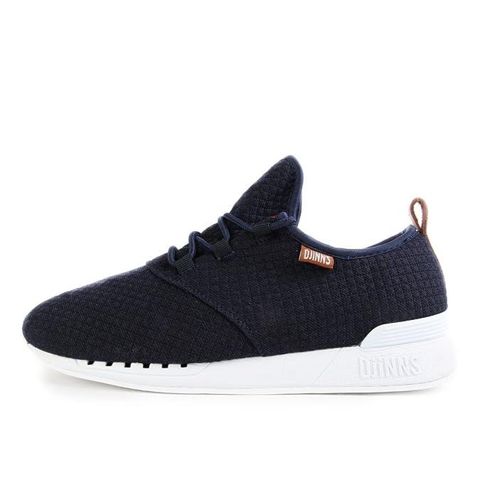 Djinn's Moc Lau Mini Padded Schuhe Sport Freizeit Sneaker navy Djinns LowLau