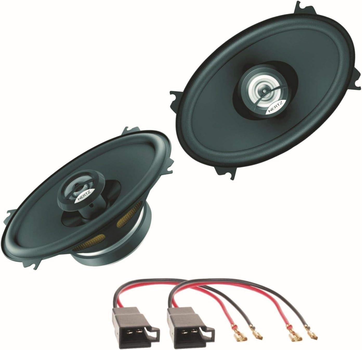 Hertz Dieci Dcx460 3 2 Wege Koaxial Lautsprechersystem Seitliche Heckablage Für Polo 86c Golf 2