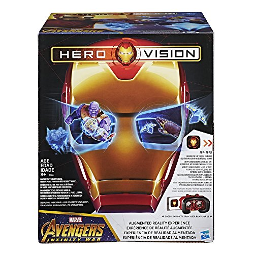 Marvel Avengers: Infinity War Hero Vision Iron Man AR -