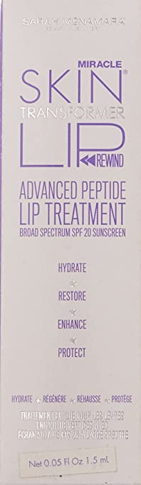 Miracle Skin Transformer Lip Rewind Advanced Peptide Lip Treatment Broad  Spectrum SPF 20