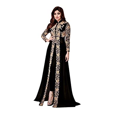 68bf738e65 Image Unavailable. Image not available for. Color: Bollywood Collection  Pakistani Anarkali Salwar Suit Bridal ...