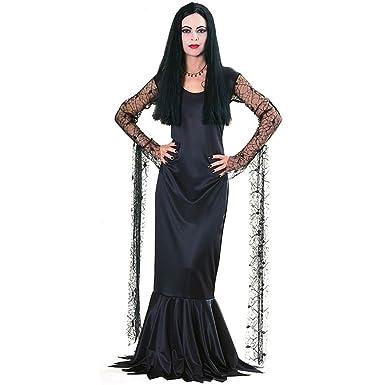 Rubbies - Disfraz de morticia para mujer, talla 8-10 (15526M): Amazon.es: Juguetes y juegos
