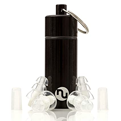 NU Ear Plugs - High Fidelity & Discreet Earplugs for Musicians, Travel,  Motorcycles, Concerts, Festivals, Drummers & Percussion - Comfortable