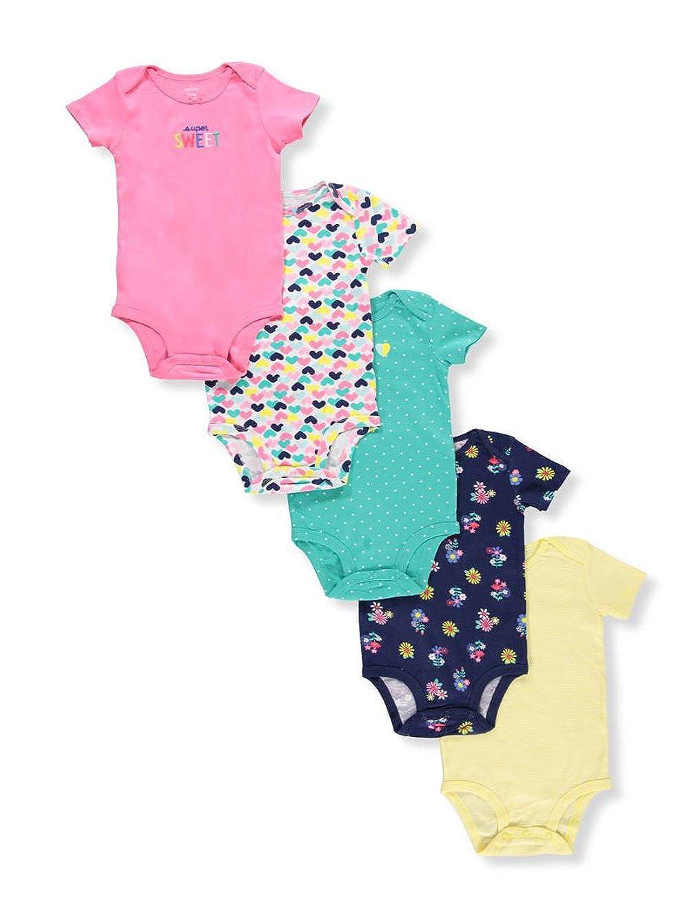 Carter's Pack de monos para bebé -niñ as 9 meses Multi 126H264