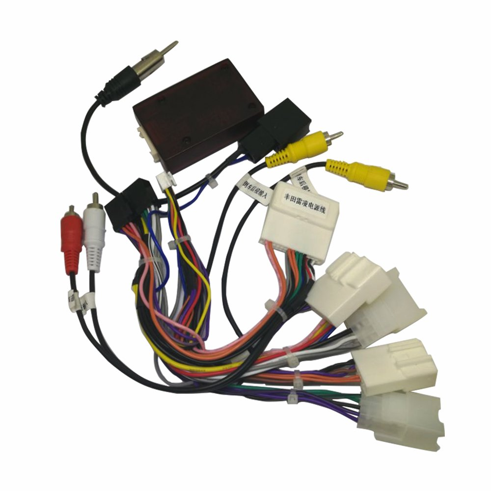 Harness And Canbus For Toyota Highlander 2009 2012 With 2011 Wiring Jbl Amplfier Car Electronics