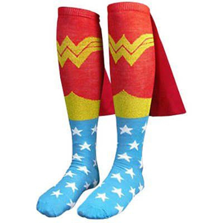 Wonder Woman Socken mit Umhang