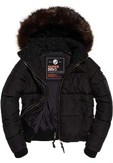 Superdry Jacke Damen Horizon Padded JKT Khaki, Größe:L