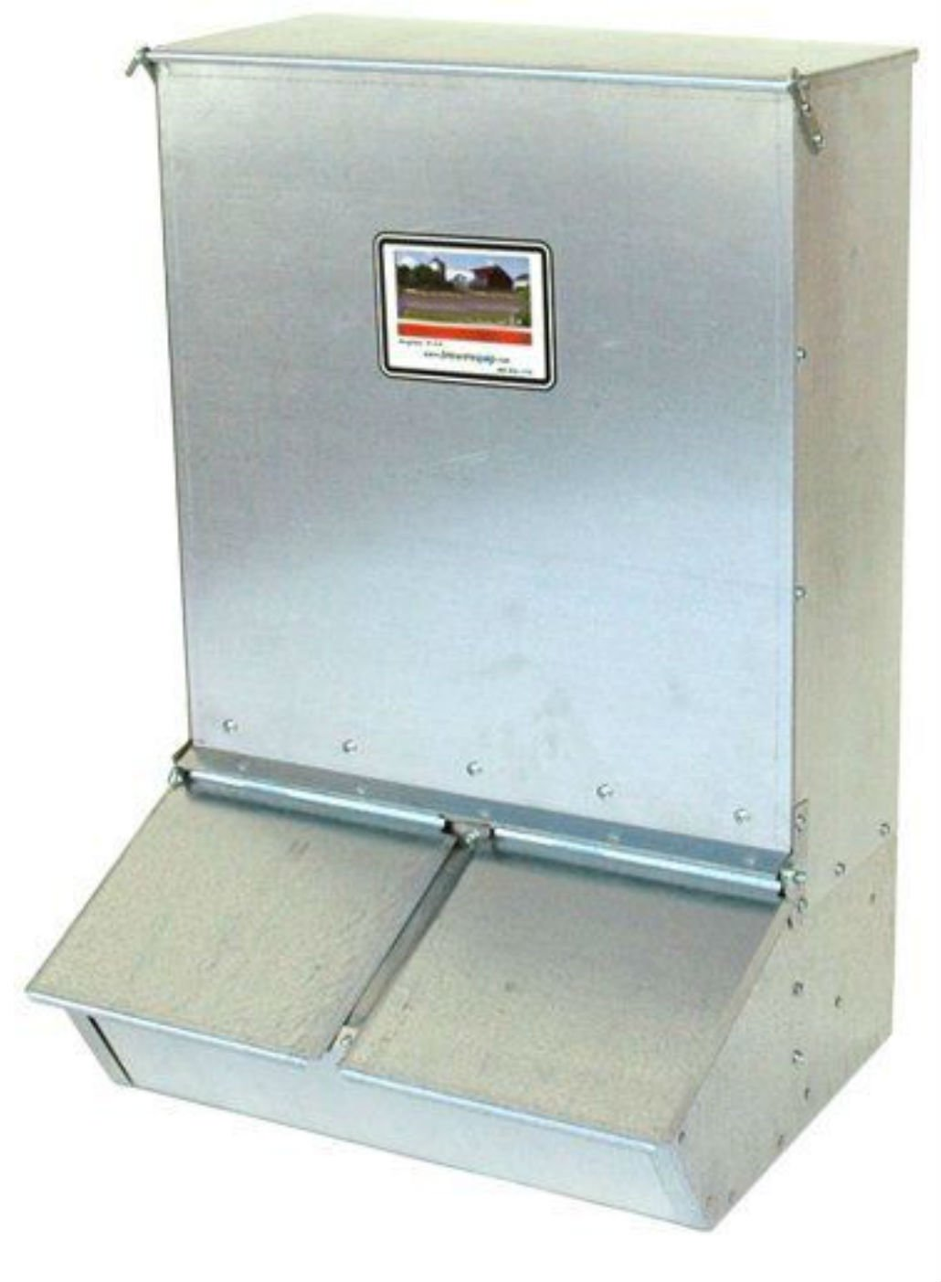 Brower 22H 2 Door Supplement Hog Feeder - Heavy Duty - Hogs won't destroy!