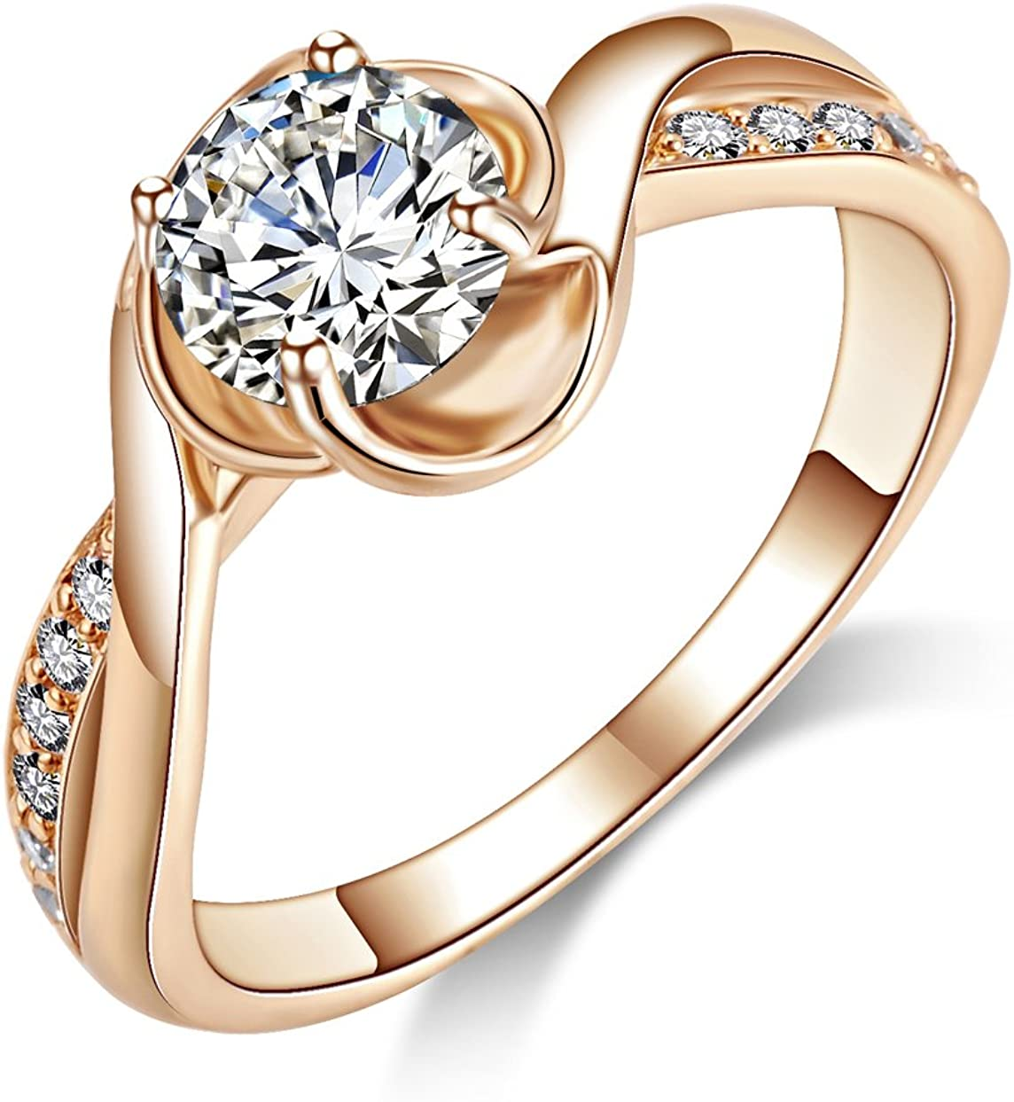 Gemstone High Quality Cubic Zirconia Stone Bridal Rings Handmade Ring Promise Engagement Ring Flower O 925 Sterling Silver Rings